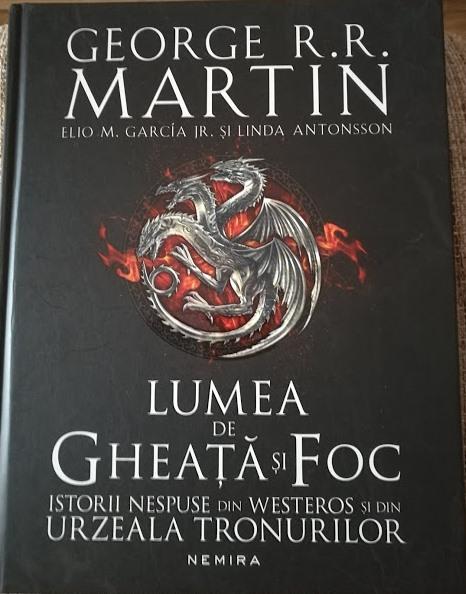 o carte despre cele sapte regate westeros game of thrones