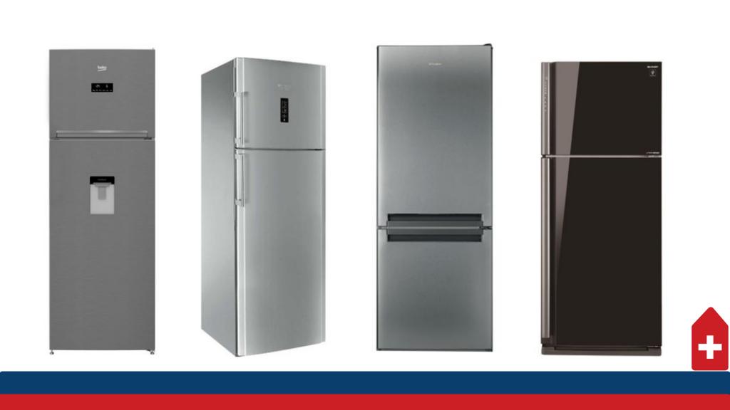top 10 frigidere cu doua usi in Romania