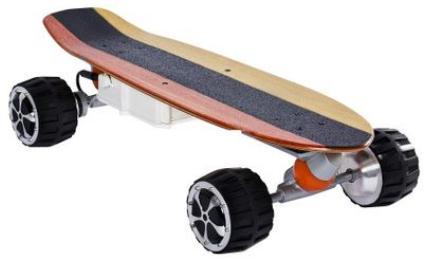 un bun skateboard electric de vara