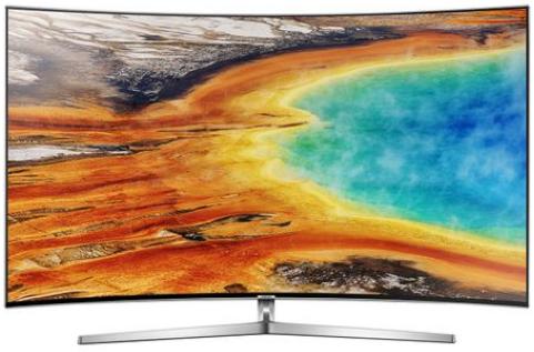 un tv curved pt sufragerie 4k