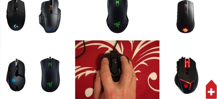 top 10 mouseuri de gaming performanta