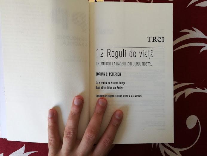 carte recenzie utila 12 reguli de viata