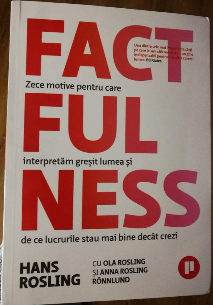 o carte buna despre lume factfulness