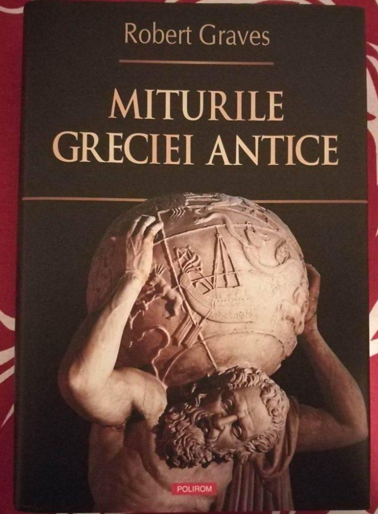 carte istorie despre grecia antica mituri