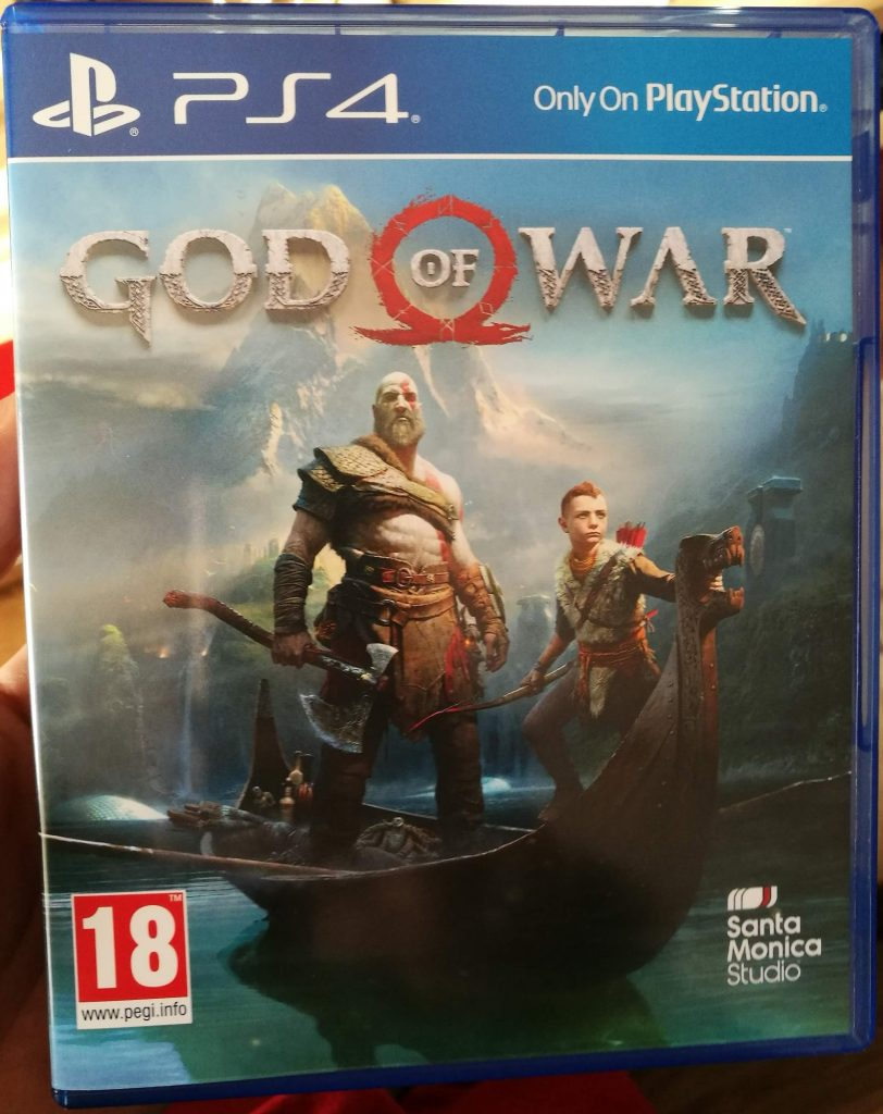 cadou playstation 4 god of war