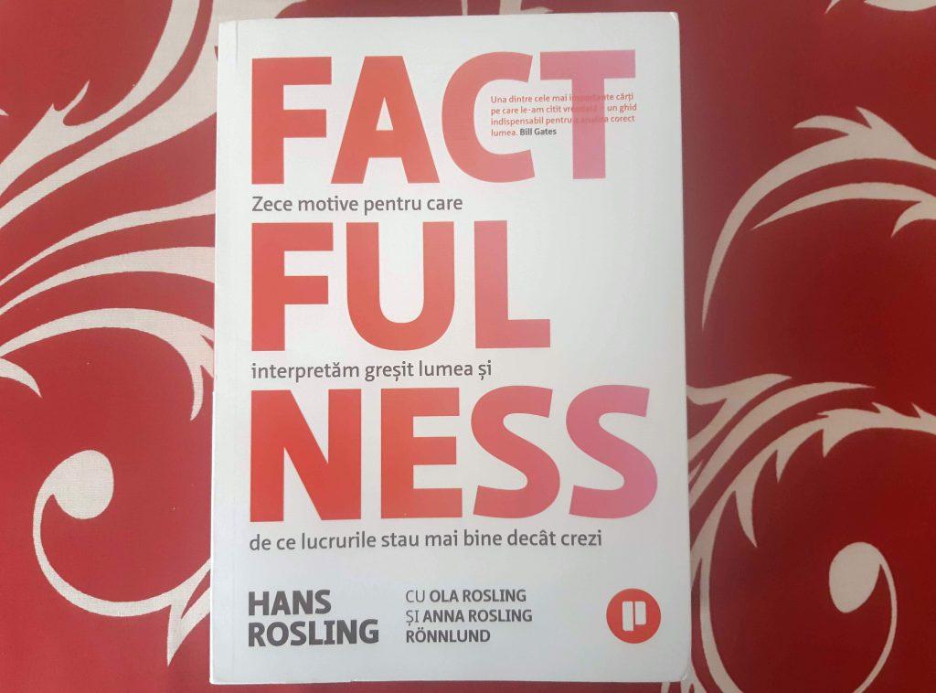 Am citit cu drag cartea factfulness