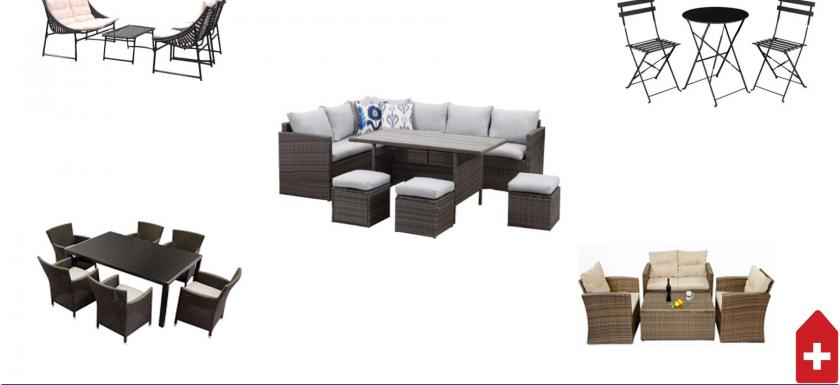 cum gasim un set de mobilier bun gradina