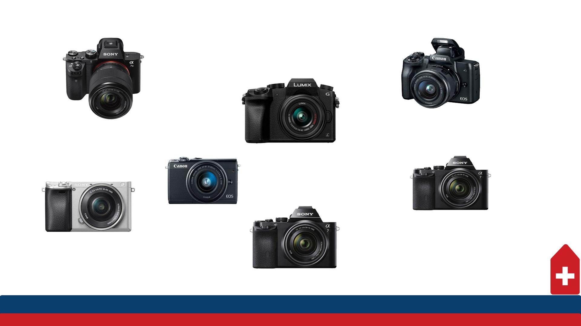 Cautam cele mai bune aparate foto mirrorless pentru pasionati