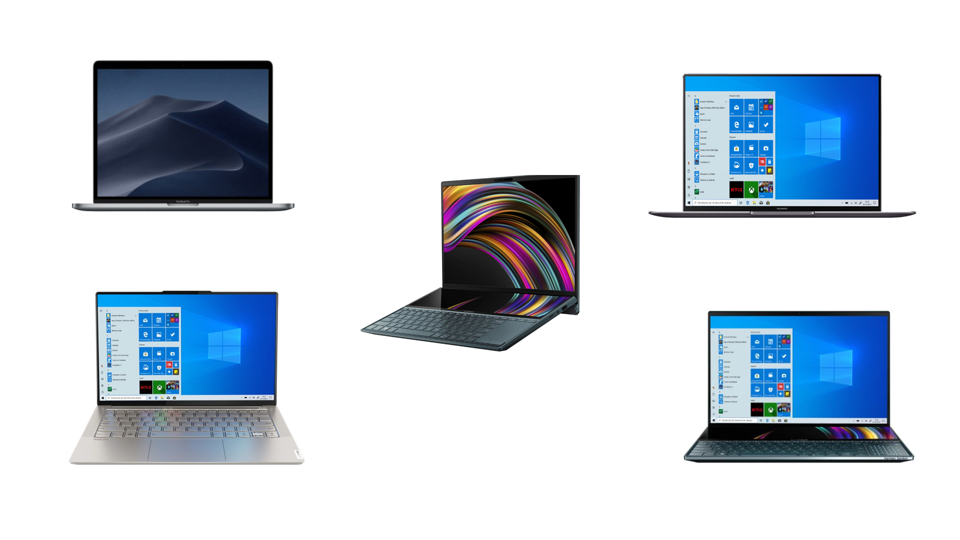 Top 5 laptopuri ultraportabile in 2020