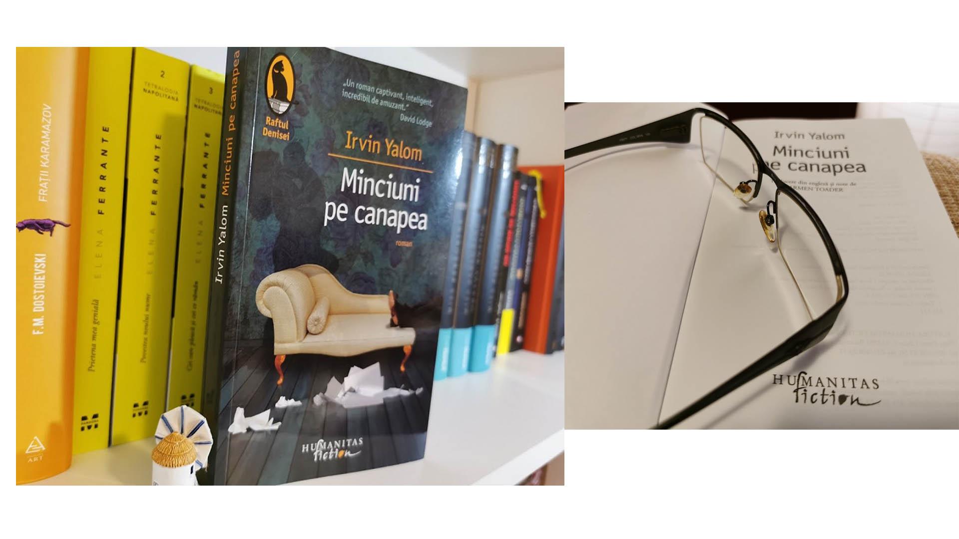 Recenzie carte Minciuni pe canapea de Irvin D. Yalom